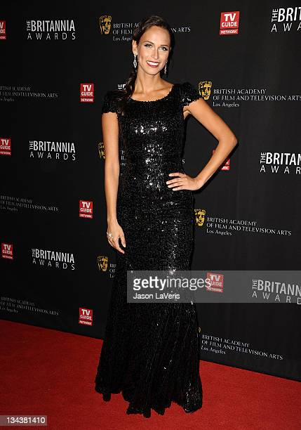 Asha Leo attends the BAFTA Los Angeles Britannia Awards at The Beverly Hilton hotel on November 30, 2011 in Beverly Hills, California.