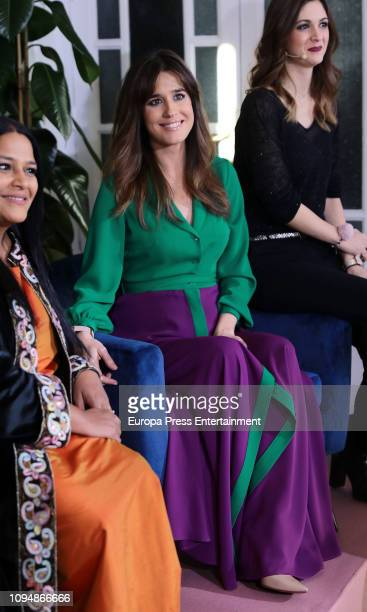 Asha Miro and Isabel Jimenez attend Max Factor Campaign presentation on January 15 2019 in Madrid Spain