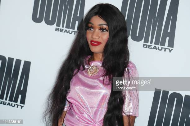 Asha Morisho attends House Of Uoma Presents The Launch Of Uoma Beauty The World's First Afropolitan Makeup Brand at NeueHouse Hollywood on April 25...