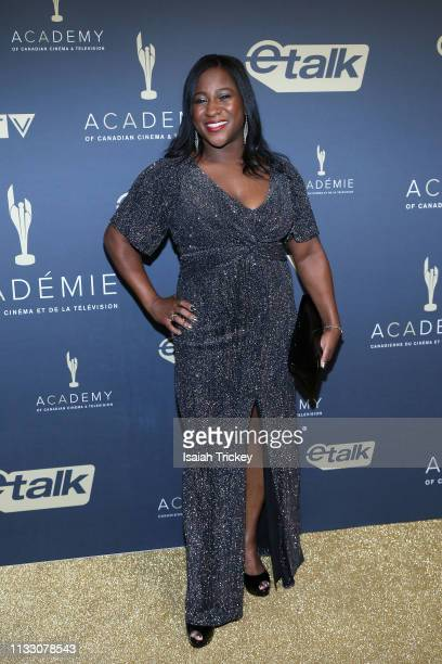 Asha Tomlinson Nominee Best Host or Interviewer in a News Information Program or Series attends Canadian Screen Awards The CTV Gala Honouring...
