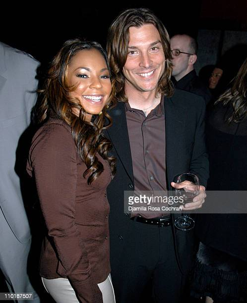 Ashanti and Alex Bogusky during Patti LaBelle Performs at The 2004 International Andy Awards at Capitale in New York City New York United States