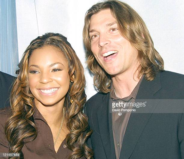 Ashanti and Alex Bogusky during The International Andy Awards Announce Winners Of Best Advertising Of 2003 at Capitale in New York City New York...