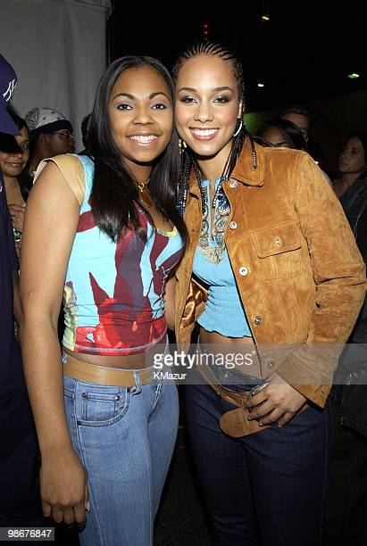 Ashanti and Alicia Keys
