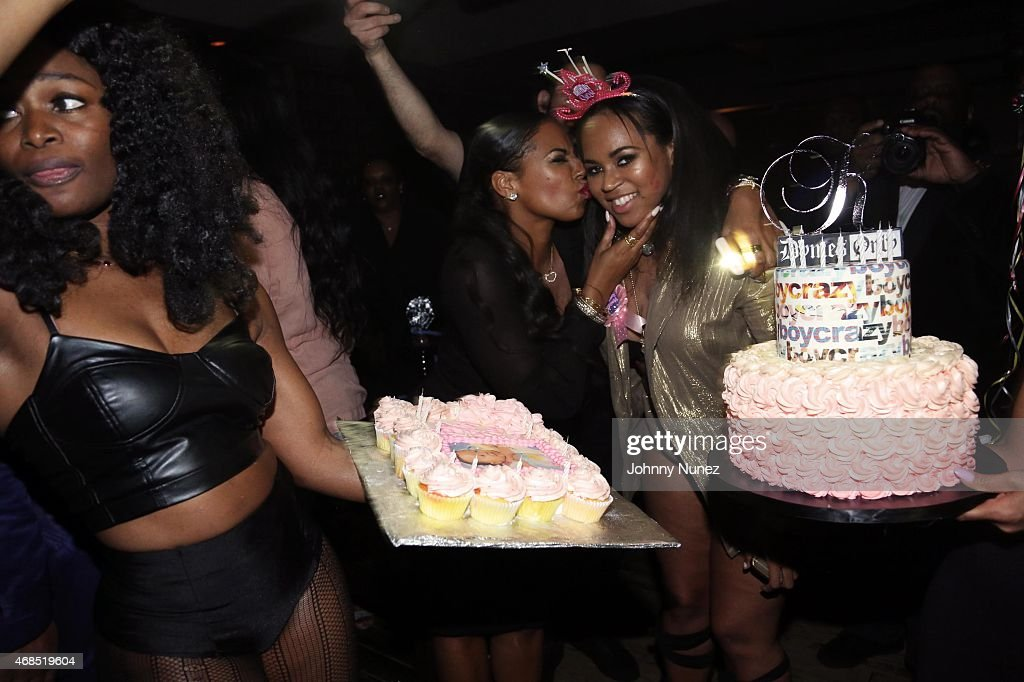Ashanti Host's Sister Shia's Birthday Party | Getty Images