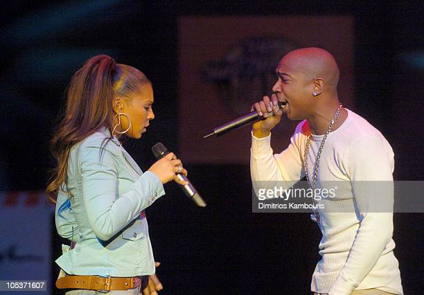 Ashanti and Ja Rule during Fuse and Hot 97 Present Full Frontal Hip Hop With Host Lil Kim at Webster Hall in New York City New York United States