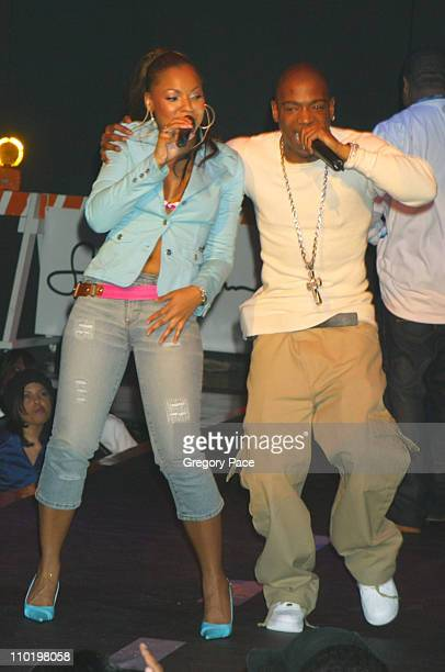 Ashanti and Ja Rule during Fuse and Hot 97 Present Full Frontal Hip Hop with Host Lil' Kim at Webster Hall in New York New York United States