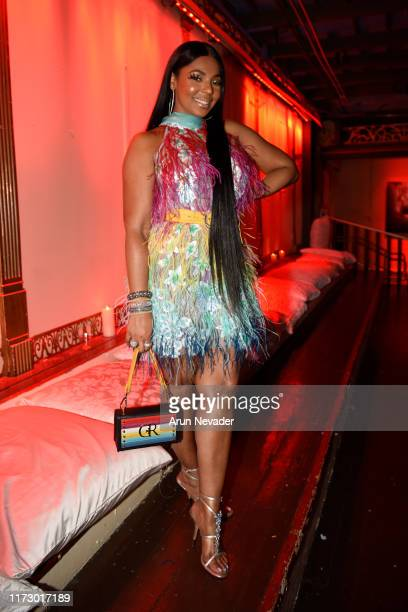 Ashanti attends New York Fashion Week powered by Art Hearts Fashion NYFW at The Angel Orensanz Foundation on September 07, 2019 in New York City.