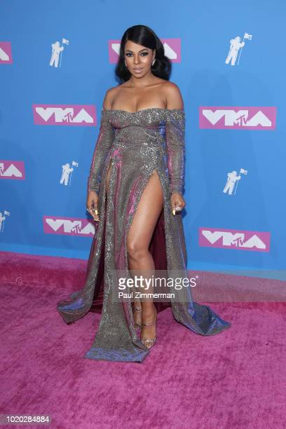 Ashanti attends the 2018 MTV Video Music Awards at Radio City Music Hall on August 20 2018 in New York City