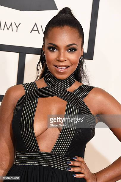 Ashanti attends The 57th Annual GRAMMY Awards at the STAPLES Center on February 8 2015 in Los Angeles California