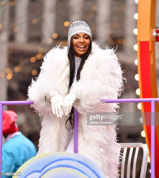 Ashanti attends the 93rd Annual Macy's Thanksgiving Day Parade on November 28, 2019 in New York City.
