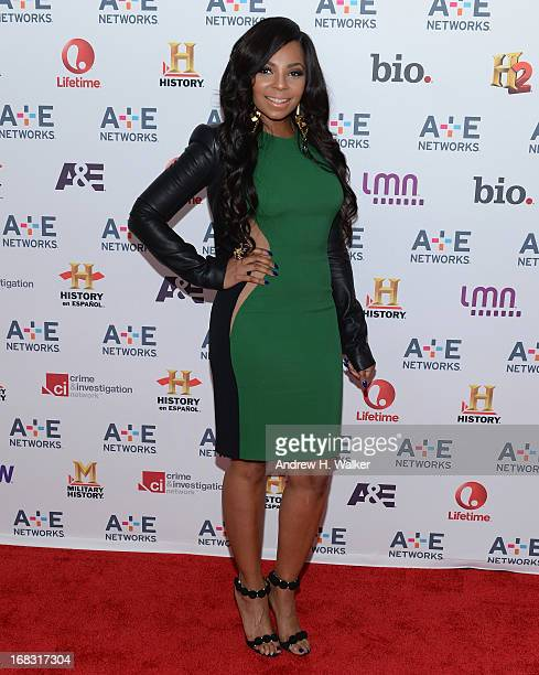 Ashanti attends the AE Networks 2013 Upfront on May 8 2013 in New York City
