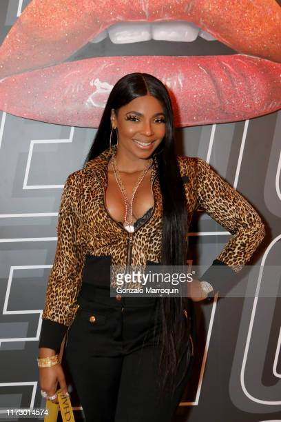 Ashanti attends The Cheetos House of Flamin' Haute Style Bar Experience where Cheetos unveiled faninspired versions of the #CheetosFlaminHaute look...