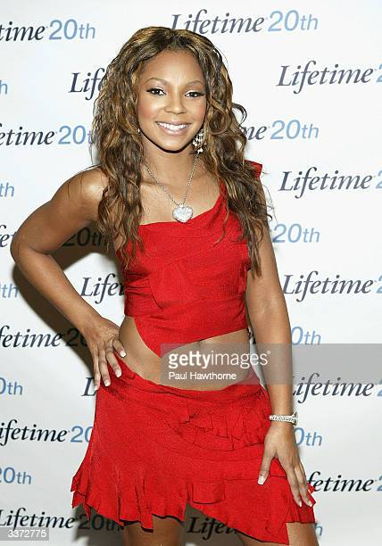 Ashanti attends the Lifetime Television Upfront Event at the Grand Hyatt Hotel on April 15 2004 in New York City