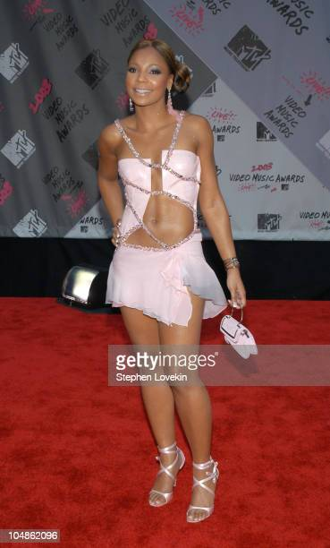 Ashanti during 2003 MTV Video Music Awards Arrivals at Radio City Music Hall in New York City New York United States