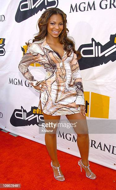 Ashanti during 2004 VH1 Divas Benefitting The Save The Music Foundation Red Carpet at The MGM Grand in Las Vegas Nevada United States