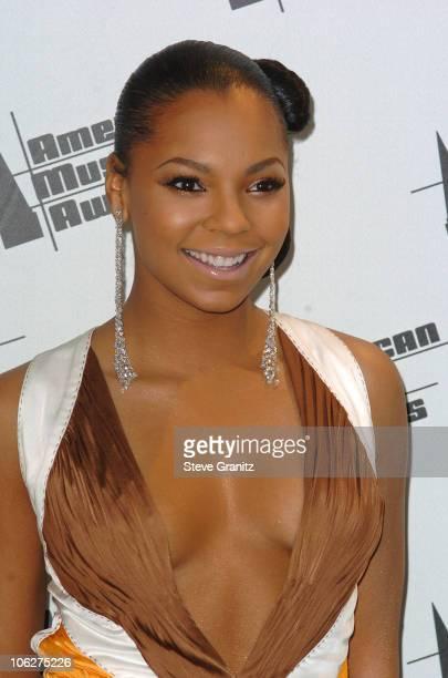 Ashanti during 33rd Annual American Music Awards Press Room at Shrine Auditorium in Los Angeles California United States