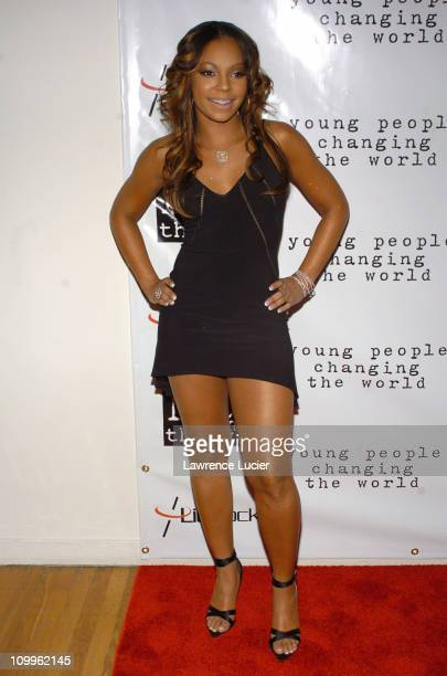 Ashanti during Ashanti Appears at the 2004 Do Something Brick Awards at Metropolitan Pavilion in New York City New York United States