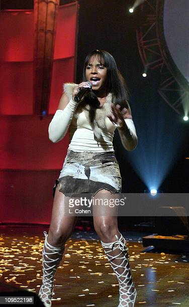 Ashanti during Britney Spears Receives 2002 Children's Choice Award at Neil Bogart Memorial Fund's Bogart Tour for a Cure Show at Universal...