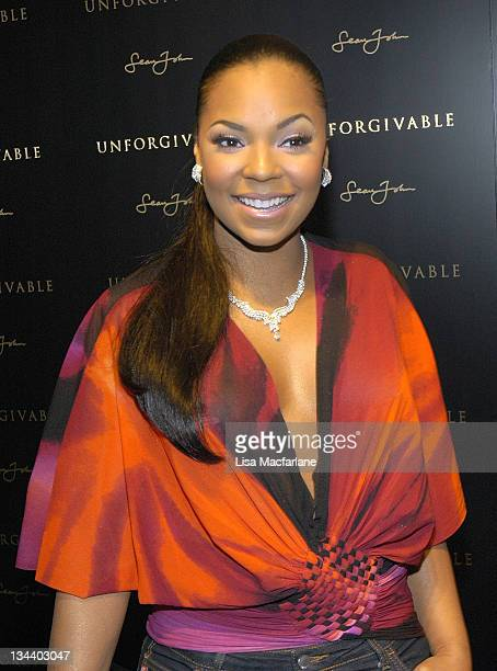 Ashanti during Sean 'Diddy' Combs Celebrates the Launch of 'Unforgivable' at The Core Club in New York City New York United States