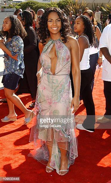 Ashanti during The 8th Annual Soul Train Lady Of Soul Awards Arrivals at Pasadena Civic Auditorium in Pasadena California United States