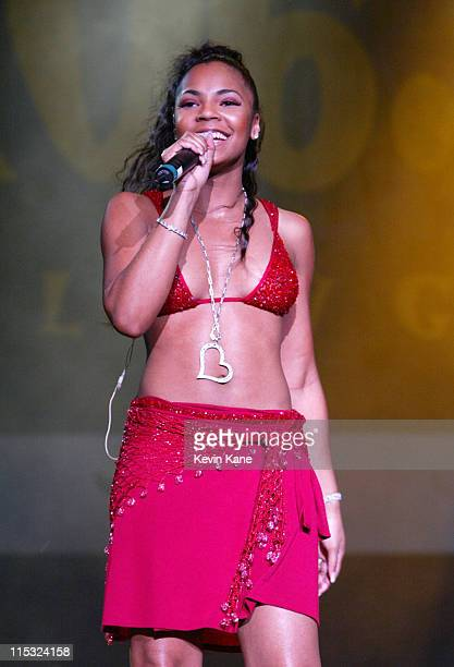 Ashanti during WBLI Summer Jam 2002 Show at Jones Beach Theater in Wantagh New York United States