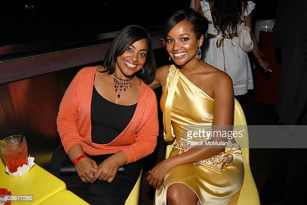 Ashanti Frank and Tamiko Nash Miss California attend Miss Universe Post Pageant VIP Party hosted by Chuck Nabit Dave Geller Ed St John Greg Barnhill...