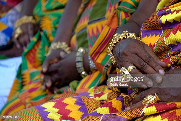 ashanti indigenous in ghana - ghana stock pictures, royalty-free photos & images