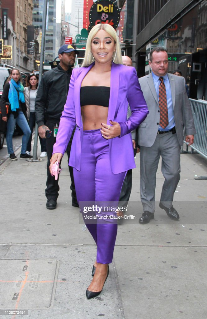 Celebrity Sightings In New York - April 19, 2019 : News Photo