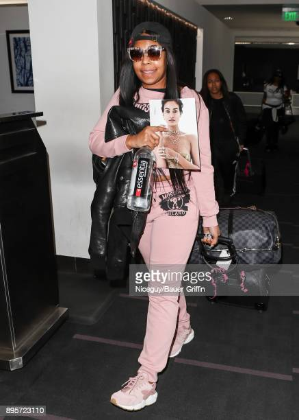 Ashanti is seen on December 19 2017 in Los Angeles California