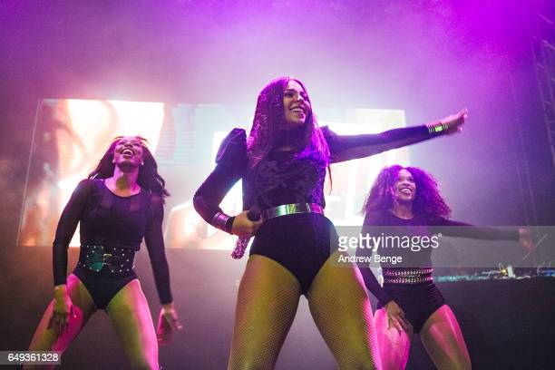 Ashanti performs At O2 Academy In Leeds on March 7, 2017 in Leeds, United Kingdom.