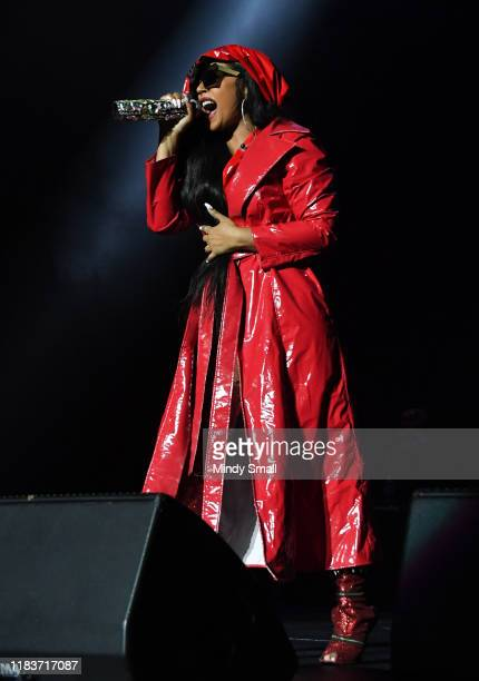 Ashanti performs during Q 100.5's Nightmare on Q Street at the Orleans Arena on October 26, 2019 in Las Vegas, Nevada.