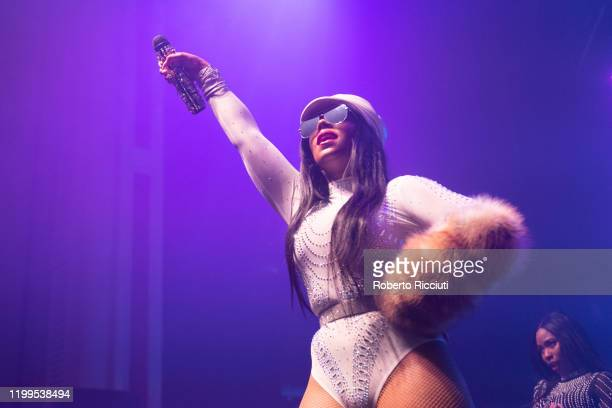 Ashanti performs live on stage at O2 Academy Glasgow on February 8 2020 in Glasgow Scotland