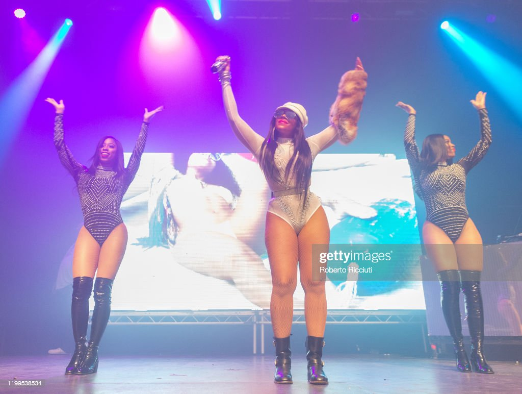 Ashanti Performs At O2 Academy Glasgow : News Photo