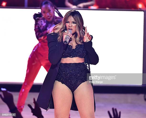 Ashanti performs onstage during the VH1 Hip Hop Honors All Hail The Queens at David Geffen Hall on July 11 2016 in New York City