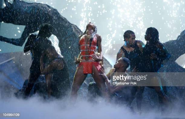 Ashanti performs 'Rain On Me' during 31st Annual American Music Awards Show at The Shrine Auditorium in Los Angeles California United States