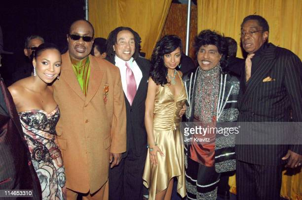 Ashanti Stevie Wonder Smokey Robinson Mya Little Richard and Don Cornelius