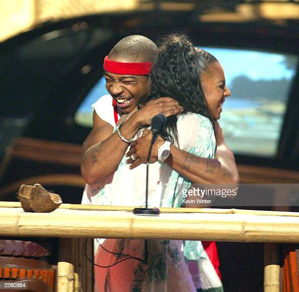 Ashanti with Ja Rule won 'Choice Breakout Artist' at 'The Teen Choice Awards 2002' at the Universal Amphitheatre in Los Angeles Ca Sunday August 4...