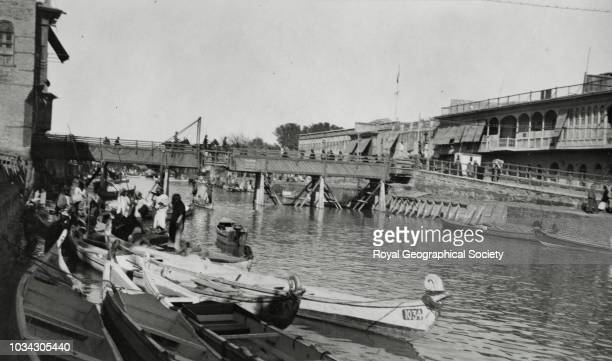 Ashar Creek - Basrah, Iraq, circa 1947.