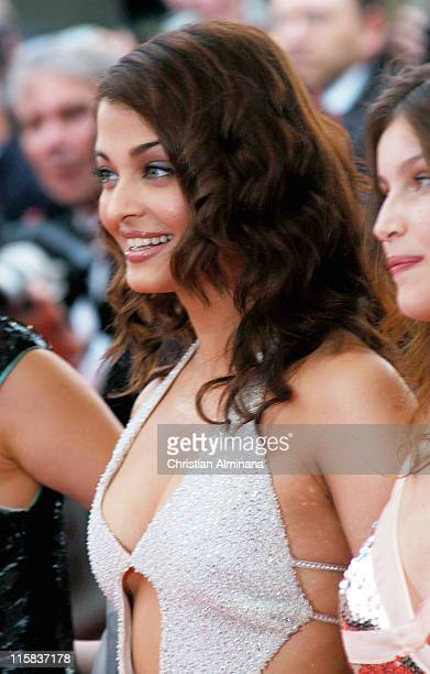 Ashawarya Rai during 2004 Cannes Film Festival The Bad Education Opening Night Premiere at Palais Du Festival in Cannes France
