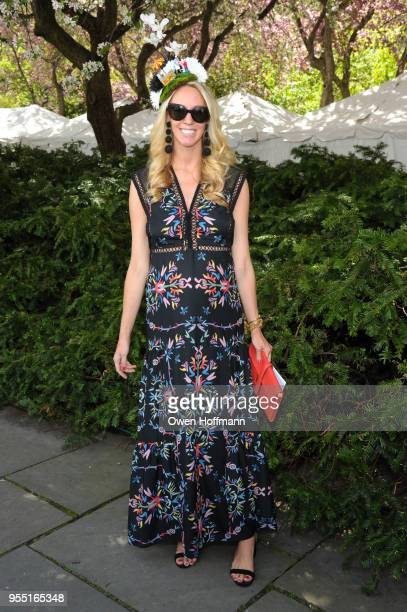 Ashely Carlson attends 36th Annual Frederick Law Olmsted Awards Luncheon Central Park Conservancy at The Conservatory Garden in Central Park on May 2...