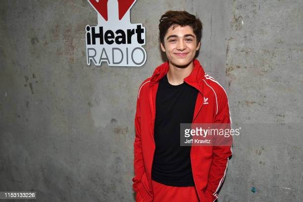 Asher Angel attends 2019 iHeartRadio Wango Tango presented by The JUVÉDERM® Collection of Dermal Fillers at Dignity Health Sports Park on June 01...