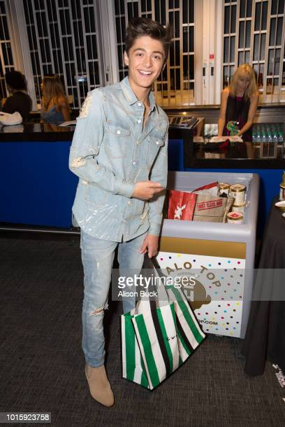 Asher Angel attends Backstage Creations Celebrity Retreat At Teen Choice 2018 Day 2 at The Forum on August 12 2018 in Inglewood California