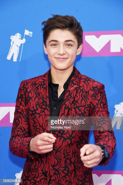 Asher Angel attends the 2018 MTV Video Music Awards at Radio City Music Hall on August 20 2018 in New York City