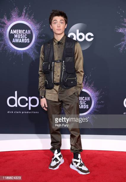 Asher Angel attends the 2019 American Music Awards at Microsoft Theater on November 24 2019 in Los Angeles California