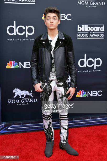 Asher Angel attends the 2019 Billboard Music Awards at MGM Grand Garden Arena on May 1 2019 in Las Vegas Nevada
