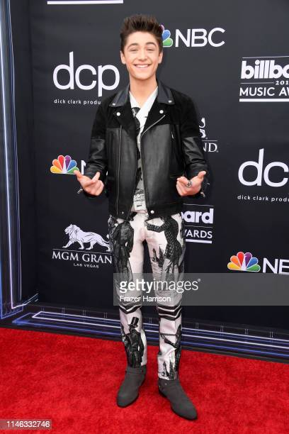Asher Angel attends the 2019 Billboard Music Awards at MGM Grand Garden Arena on May 01 2019 in Las Vegas Nevada