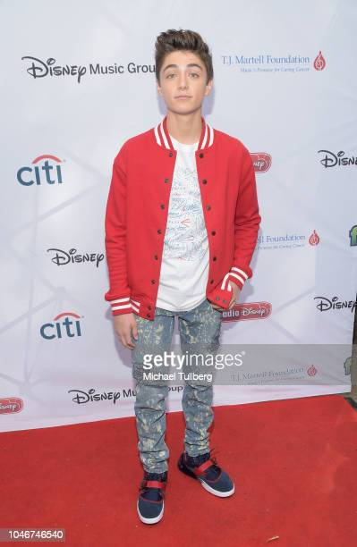 Asher Angel attends the 9th annual LA Family Day hosted by the TJ Martell Foundation at The Grove on October 6 2018 in Los Angeles California