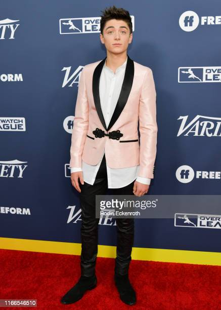 Asher Angel attends Variety's Power of Young Hollywood at The H Club Los Angeles on August 06 2019 in Los Angeles California