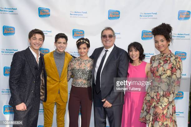 Asher Angel Joshua Rush Peyton Elizabeth Lee Kenny Ortega Lauren Tom and Sofia Wylie attend the Actor's Funds 2018 Looking Ahead Awards at Taglyan...