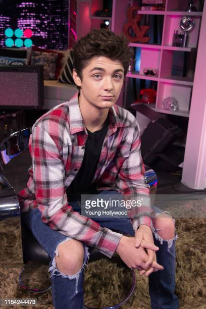 Asher Angel visits the Young Hollywood Studio on June 6 2019 in Los Angeles California